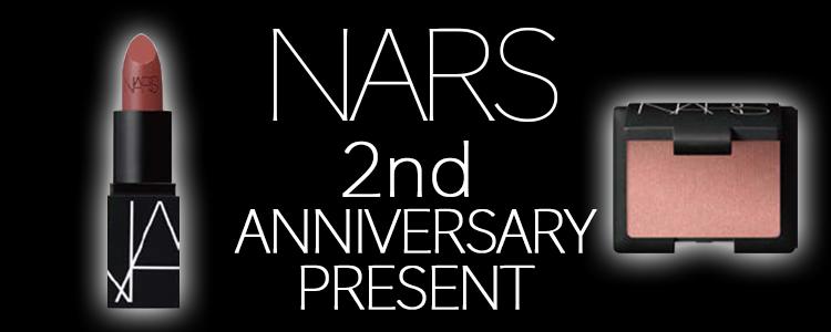 Perfumerie Sukiya S-PAL店 NARSカウンター オープン2周年を記念して6月13日から数量限定のスペシャルプレゼントが登場。